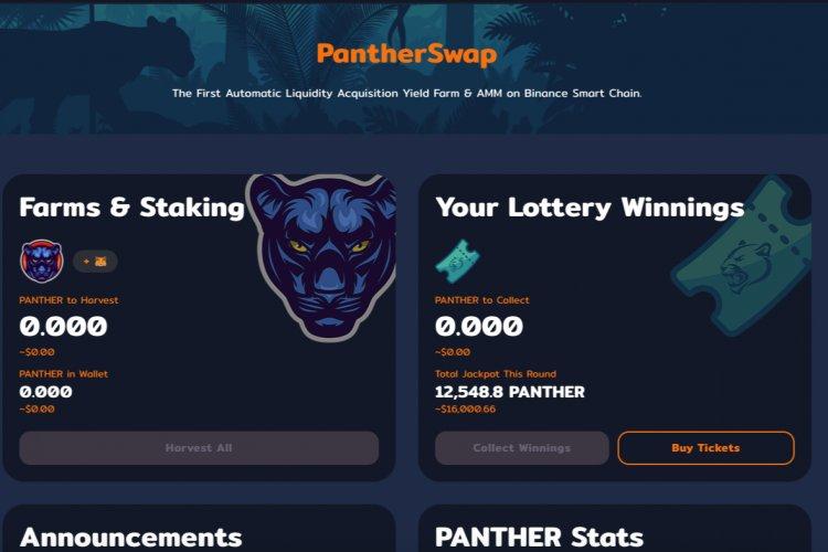 PantherSwap — взрывной запуск на BSC
