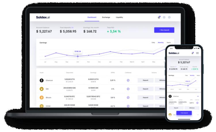 Soldex — это децентрализованная биржа, которая использует экосистему Solana